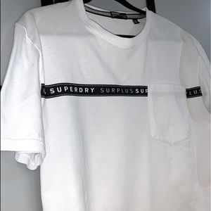 Superdry NY Surplus Tee w Front Pocket